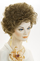 Precilla Short Wavy Curly Blonde Brunette Red Grey Wigs