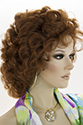Wb-T Medium Short Wavy Curly Blonde Brunette Red Grey Wigs
