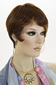 Island WB Short Lace Front Heat Friendly Pixie Straight Brunette Red Wigs