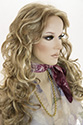 Selena Wig Pro Long Monofilament Hand Tied Wavy Curly Blonde Brunette Red Wigs