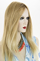 Blake - Petite Long Human Hair Lace Front Monofilament Hand Tied Jon Renau Petite Wavy Blonde Brunette Red Grey Wigs