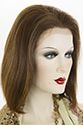 Boa HL Medium Premium Remy Human Hair Lace Front Straight Blonde Brunette Red Wigs