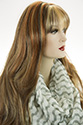 Alicia XL G Long Skin Top Wavy Blonde Brunette Red Wigs