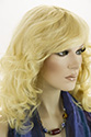 MANDY HH Human Hair Monofilament Hand Tied Wavy Curly Straight Blonde Brunette Red Wigs
