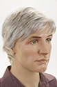Alex G Medium Skin Top Wavy Blonde Brunette Red Grey Men Wig