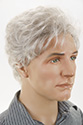 Kevin G Short Wavy Blonde Brunette Red Grey Men Wig