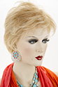Judi By Jon Renau Short Monofilament Hand Tied Heat Friendly Jon Renau Straight Blonde Brunette Red Wigs