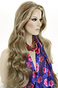 Linda XXL Long Wavy Straight Blonde Brunette Red Grey Wigs