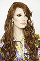 Boston Heat Safe Medium Skin Top Heat Friendly Wavy Curly Blonde Brunette Red Wigs