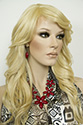Phoenix Heat Safe Long Medium Skin Top Heat Friendly Wavy Blonde Brunette Red Wigs