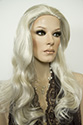 Christine Long Straight Blonde Brunette Red Grey Wigs