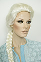Frozen Elsa style Medium Wavy Blonde Costume Wigs