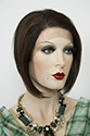 Olive wb Medium Lace Front Wavy Blonde Brunette Red Wigs