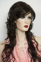 Dareen E Long Wavy Curly Blonde Brunette Red Grey Wigs
