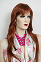 Dory Long Straight Blonde Brunette Red Wigs