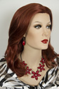 Tony S G Long Medium Wavy Straight Blonde Brunette Red Wigs