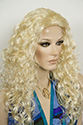 Susan g Long Wavy Curly Blonde Brunette Red Wigs 3/4 Cap