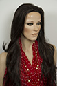 Donata 1/2 wig Long Straight Blonde Brunette Red 3/4 Cap 1/2 Cap