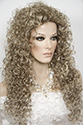 Lioness Long Curly Blonde Brunette Red Wigs