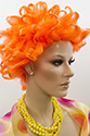 Chucky Medium Curly Costume Fun Color Wigs