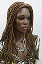 Dreadlock XL G Long Curly Brunette Wigs