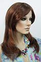 Carolina by Dream USA Long Lace Front Monofilament Dream USA Wavy Straight Blonde Brunette Red Wigs