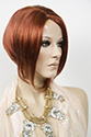 Rihanna Medium Short Skin Top Straight Blonde Brunette Red Wigs