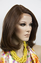 Avalon LF Medium Lace Front Heat Friendly Wavy Straight Brunette Red Wigs