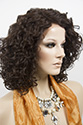 Skylar LF Medium Lace Front Wavy Curly Brunette Red Wigs