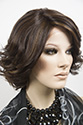 Harper LF Medium Lace Front Wavy Straight Brunette Red Wigs