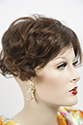 Top Crown By Jon Renau Medium Monofilament Jon Renau Wavy Brunette Red Grey Clip-in-Extensions Hair Pieces