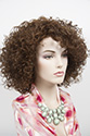 BIANCA Heat Safe Medium Heat Friendly Curly Brunette Red Wigs