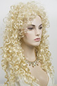 Diana 3G Long Curly Blonde Brunette Red Grey Wigs