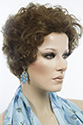 Dora Short Human Hair Wavy Blonde Brunette Red Wigs