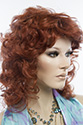 Shakira Medium Wavy Blonde Brunette Red Wigs