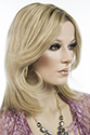 Carrie by Jon Renau Medium Human Hair Lace Front Monofilament Jon Renau Straight Blonde Brunette Red Wigs