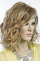 Scarlett - Large Medium Lace Front Jon Renau Wavy Large Cap Blonde Brunette Red Grey Wigs