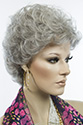 Priceless By Aspen Short Light Weight Monofilament Hand Tied Aspen Wavy Curly Blonde Brunette Red Grey Wigs