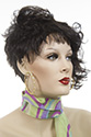 Bryce Short Pixie Wavy Straight Blonde Brunette Red Wigs