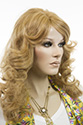 Orchid HH Long Human Hair Skin Top Wavy Straight Blonde Brunette Red Wigs