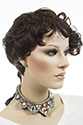 Shelby Heat Safe Short Heat Friendly Pixie Wavy Blonde Brunette Red Grey Wigs