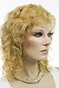 Diane Medium Human Hair Monofilament Hand Tied Wavy Blonde Brunette Red Grey Wigs