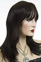 Mariah wb HH Medium Premium Remy Human Hair Monofilament Straight Blonde Brunette Red Wigs