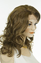 Lauren Lace Front Wig Long Medium Lace Front Hand Tied Wavy Curly Straight Blonde Brunette Red Wigs