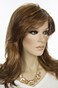 Paulin Syn Long Medium Wavy Straight Blonde Brunette Red Grey Wigs