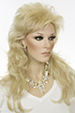 Jody Long Wavy Straight Blonde Wigs
