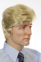 Trump Medium Straight Red Costume Wigs Men Wig