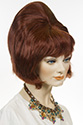 CONE BEEHIVE Medium Short Wavy Straight Blonde Brunette Red Grey Costume Fun Color Wigs