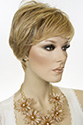 Anne by Jon Renau Short Lace Front Monofilament Hand Tied Jon Renau Pixie Wavy Straight Blonde Brunette Red Grey Wigs