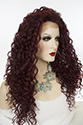 Delaney LF Long Lace Front Curly Blonde Brunette Red Wigs